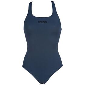 arena Solid Swim Pro Costume da bagno intero Donna, blu